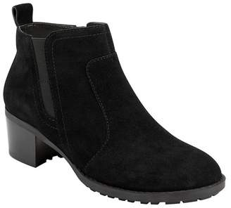 Easy Spirit Gazer Suede Bootie - Wide Width Available