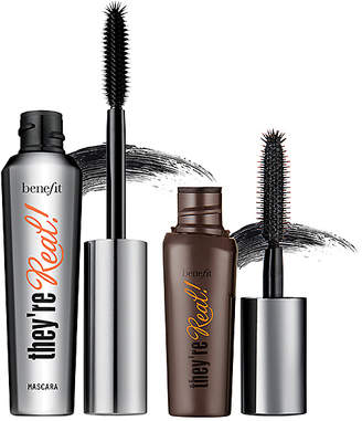 Benefit Cosmetics Real Big Steal They're Real! Lengthening Mascara Duo.