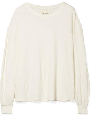 Simon Miller Solano Cotton Top - Off-white