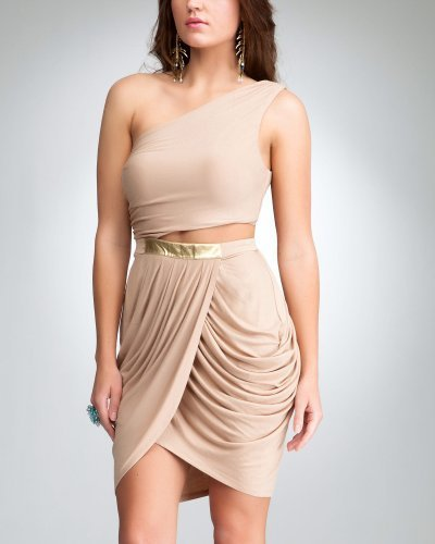Mazzy Jersey Cutout Dress