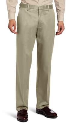 Dockers Relaxed Fit Signature Khaki Pant - Flat Front D4, Navy Stretch, 40x32
