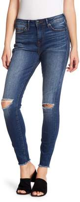 True Religion Halle High Rise Destroyed Knee Jeans