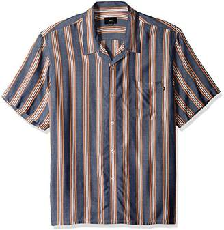 Obey Men's York Short Sleeve Button UP Woven
