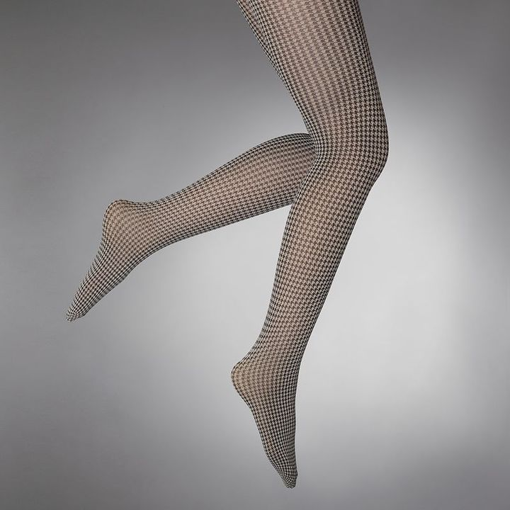 Vera Wang Simply vera mini houndstooth control-top tights