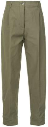 H Beauty&Youth straight fitting trousers
