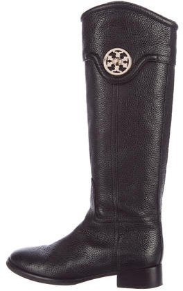 Tory Burch Tory Burch Leather Knee-High Boots