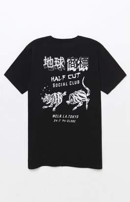 Globe Half Cut T-Shirt