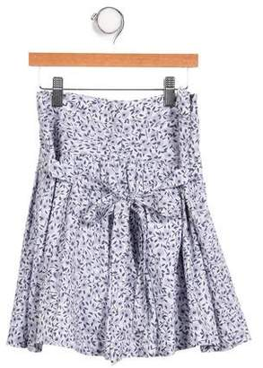 Little Marc Jacobs Girls' A-Line Printed Skirt