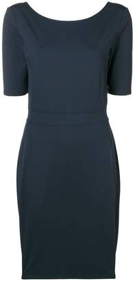 Armani Exchange round neck dress