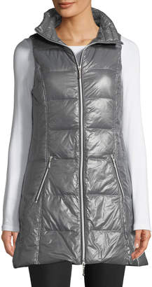 Raison D'etre Packable Long Puffer Vest