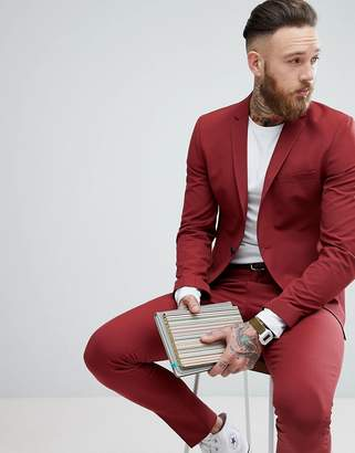 Selected Super Skinny Suit Jacket
