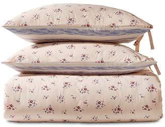 Sparrow & Wren Floral Stripe Reversible Duvet Set, King - 100% Exclusive