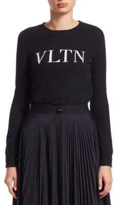 Valentino VLTN Knit Cashmere Sweater