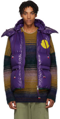 Moncler Genius 2 1952 Purple Lorent Down Vest