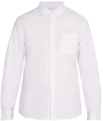 Saturdays NYC Crosby Oxford Button Down Collar Shirt - Mens - White