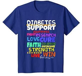 Diabetes Awareness Shirt Support Month Walk T-Shirt