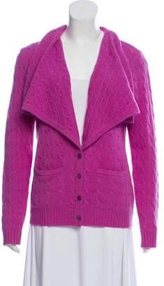 Ralph Lauren Cable Knit Cashmere Cardigan