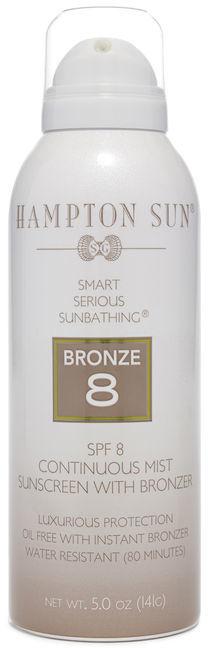 Hampton Sun SPF 8 Bronze Continuous Mist