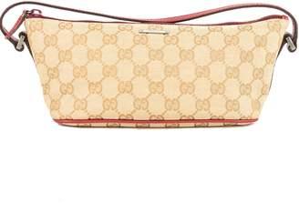 Gucci GG Monogram Canvas Pochette Bag (Pre Owned)