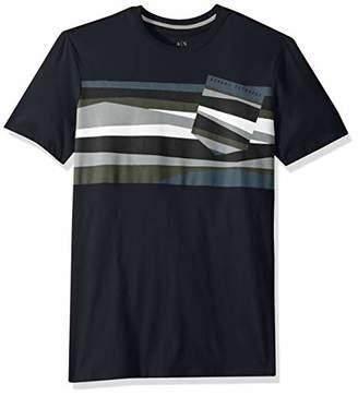 Armani Exchange A|X Men's Short-Sleeve Pocket Tilt T-Shirt