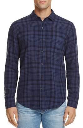 Rails Connor Indigo Plaid Slim Fit Button-Down Shirt