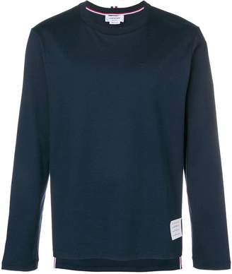 Thom Browne loose fit longsleeved T-shirt