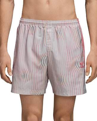 adidas Warped Stripes Swim Trunks