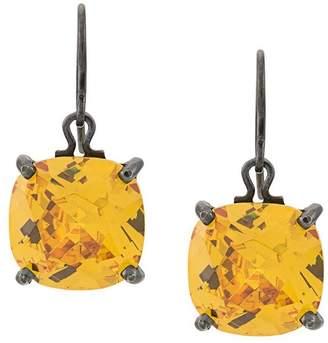 Bottega Veneta stone pendant earrings