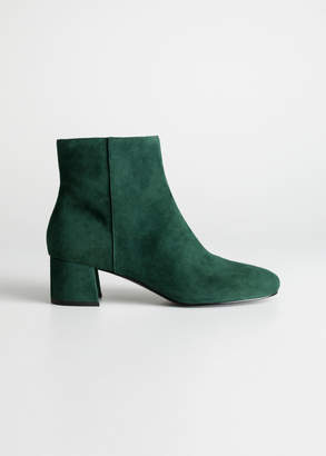 And other stories Suede Ankle Boots