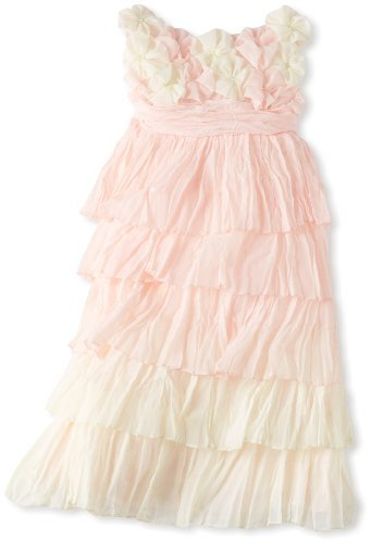 Biscotti Girls 2-6x Blushing Rose Sleeveless Dress