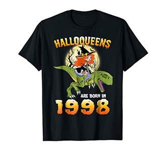 Halloqueens Are Born In 1998 Witch Riding Dinosaur Halloween