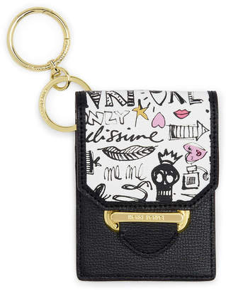 Henri Bendel Graffiti Card & Keys Holder