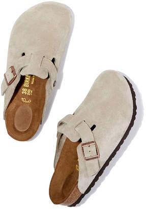 1a8fc63c5f7 Birkenstock Boston Suede Slides Sandal