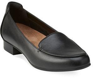 ClarksClarks Keesha Leather Slip-On Loafers