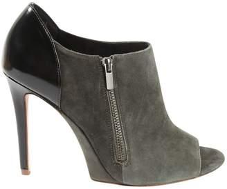 Elie Tahari Grey Suede Ankle boots