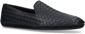 Bottega Veneta Leather Woven Loafers