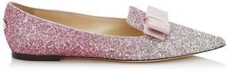 Jimmy Choo Gala Ombre Glitter Flats