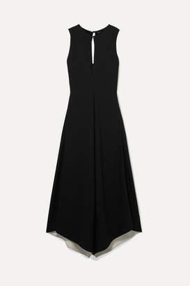 Proenza Schouler Hammered-crepe Maxi Dress - Black