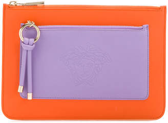 Versace embossed Medusa clutch