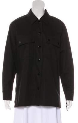 Alexander Wang Leather Fringe-Trimmed Jacket w/ Tags
