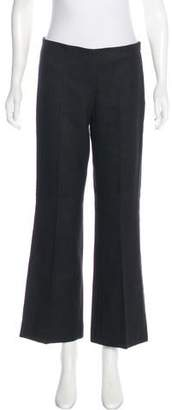 Magaschoni Mid-Rise Wide-Leg Pants