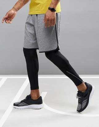 Saucony Running cityside shorts in gray sa81309-dgh