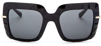 Dolce & Gabbana Women's Glam Rock Oversized Square Sunglasses, 51mm