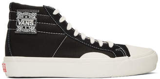 Vans Black and White OG LX High-Top Sneakers