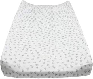 """Burt's Bees Baby - Honeybee Print Changing Pad Cover, 100% Organic for Standard 16"""" x 32"""" Changing Pad"""