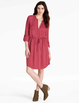 Lucky Brand WAISTED SHIRT DRESS