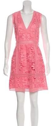 Alice + Olivia Crocheted Mini Dress w/ Tags