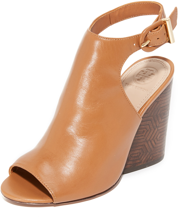 Tory Burch Tory Burch Grove Open Toe Booties