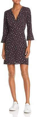 French Connection Verona Edith Ditsy Floral Faux-Wrap Dress