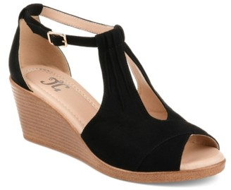 Journee Collection Kedzie Wedge Sandal